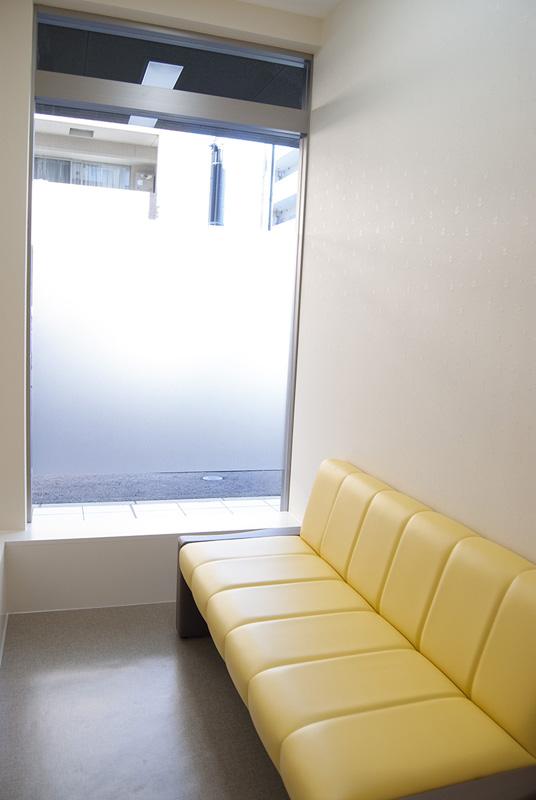 個室待合室内部